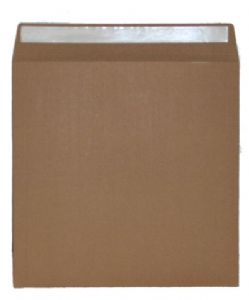 "High Quality 625 Micron Brown Board 7"" Record Mailer - Pack of 10"